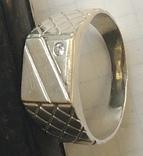 Кольцо №5, срібло, фото №2