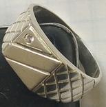 Кольцо №5, срібло, фото №3