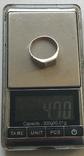 Кольцо №5, срібло, фото №4