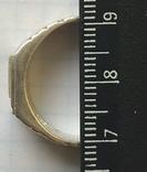 Кольцо №5, срібло, фото №5