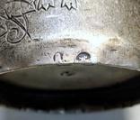 Серебряная чарка.  84 пр. 1890 г., фото №10