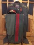 Форма генерала. Фуражка, штаны, плащ, шарф, фото №2