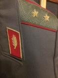 Форма генерала. Фуражка, штаны, плащ, шарф, фото №3
