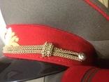 Форма генерала. Фуражка, штаны, плащ, шарф, фото №5