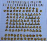Пришивные бляшки, Скифы (Au) 155 шт., фото №3