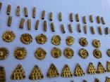 Пришивные бляшки, Скифы (Au) 155 шт., фото №5