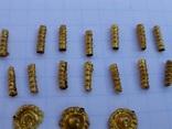 Пришивные бляшки, Скифы (Au) 155 шт., фото №9
