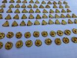 Пришивные бляшки, Скифы (Au) 155 шт., фото №10