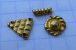 Пришивные бляшки, Скифы (Au) 155 шт., фото №13