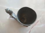 Рюмка черт чертик Фавн клеймо металл, фото №8