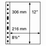 Листы Grande Light к альбому Leuchtturm, GRANDE, для банкнот, 1C, 358072