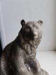 Скульптура Медведь Ленинград з-д монументскульптур. 1962 г., фото №3