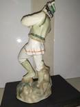 Статуэтка Лель Гуцул с сопилкой фарфор СССР реставрация, фото №6