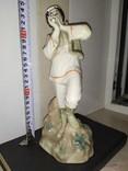 Статуэтка Лель Гуцул с сопилкой фарфор СССР реставрация, фото №13