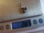 Подвес серебро 925 проба. Вес 2.80 г., фото №9