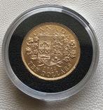 10$ 1914 год Канада золото 16,72 грамма 900', фото №3