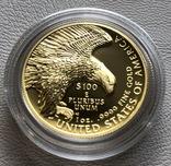 100 $ 2019 года США золото 31,1 грамм 999,9', фото №11