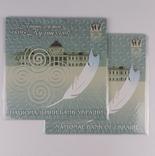 Комплект 2ух презентационных банкнот Пантелеймон Кулиш в украинском и английском буклетах фото 1