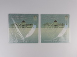 Комплект 2ух презентационных банкнот Пантелеймон Кулиш в украинском и английском буклетах фото 3