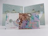 Комплект 2ух презентационных банкнот Пантелеймон Кулиш в украинском и английском буклетах фото 4