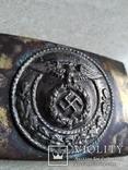 Парадна пряжка 3 рейху накладна, фото №3