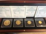 Набор «Орант» 500;250;125;50 гривен, фото №2