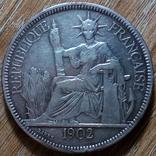 Индокитай пиастр 1902 г., фото №3