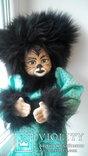 Кукла кошка 50см Glorex Глорекс Швейцария, фото №2