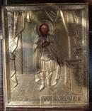 Старинная икона Святой Благоверный великий князь Александр Невский, фото №8