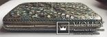 Портсигар серебряный, 84 пробы, многоцветные Эмали., фото №5