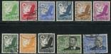 1934  Рейх  авиапочта Цеппелин + Отто Лилиенталь + кондоры полная серия, фото №2