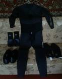 Гидрокостюм 7мм.+Гидроперчатки.+ Обувь.+Гидроноски., фото №2