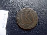 5 сантим 1855  Франция   (,F.9.9)~, фото №4