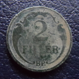 2 филлера 1927 Венгрия   (,F.9.21)~, фото №3