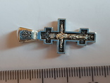 Крест нательный серебро 925. Вес 3.75 г., фото №3