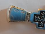 Крест нательный серебро 925. Вес 3.75 г., фото №7