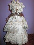 Уникальная фарфоровая кукла от Heidi Ott Хайди Отт натуральные волосы, фото №4