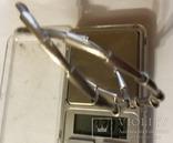 Колье Pierre Cardin серебро вес 72,83 г. матовое. Пьер Карден., фото №10