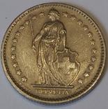 Швейцарія 2 франка, 1968 фото 2
