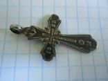 Крестик серебро 84 пробы., фото №5