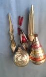 Игрушки ёлочные 5 шт одним лотом, фото №2