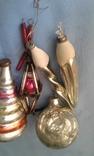 Игрушки ёлочные 5 шт одним лотом, фото №6