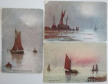 """Комплект открыток """"Лодки"""" 1900-х, фото №3"""