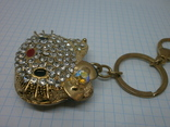 Брелок Hello Kitty. тяжелый, камни, фото №4