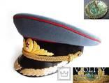 Фуражка высшего комсостава АБТВ автобронетанковых войск, артиллерия, фото №2