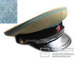 Суконная фуражка ВОСО служба военных сообщений клеймо красный воин 1958 год, фото №2