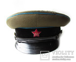 Суконная фуражка ВОСО служба военных сообщений клеймо красный воин 1958 год, фото №4