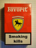 Сигареты FAVORIT RED фото 2