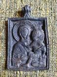 Богородица Одигитрия (Путеводительница) - Андреевский крест. XI-XIIвв., фото №2