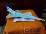 Игрушка ,самолет.ТУ-144,СССР., фото №3